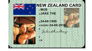 Id License Fake New Zealand Drivers Card Australian