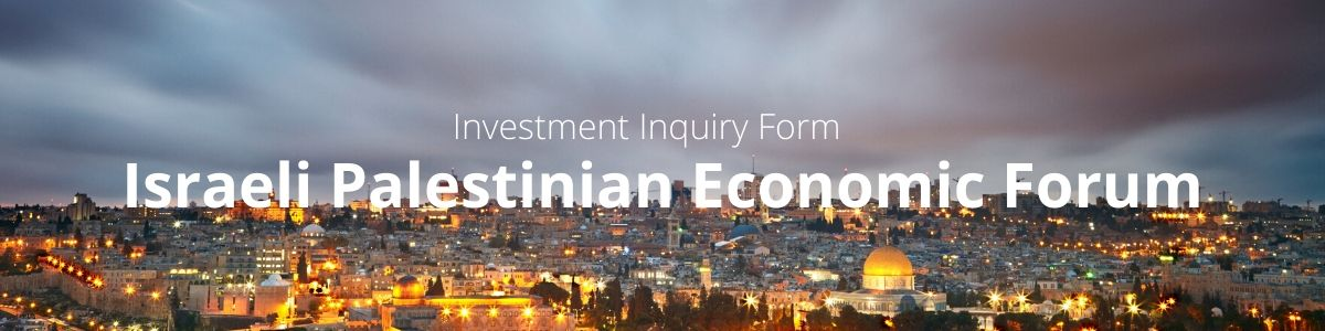 Israeli Palestinian Economic Forum