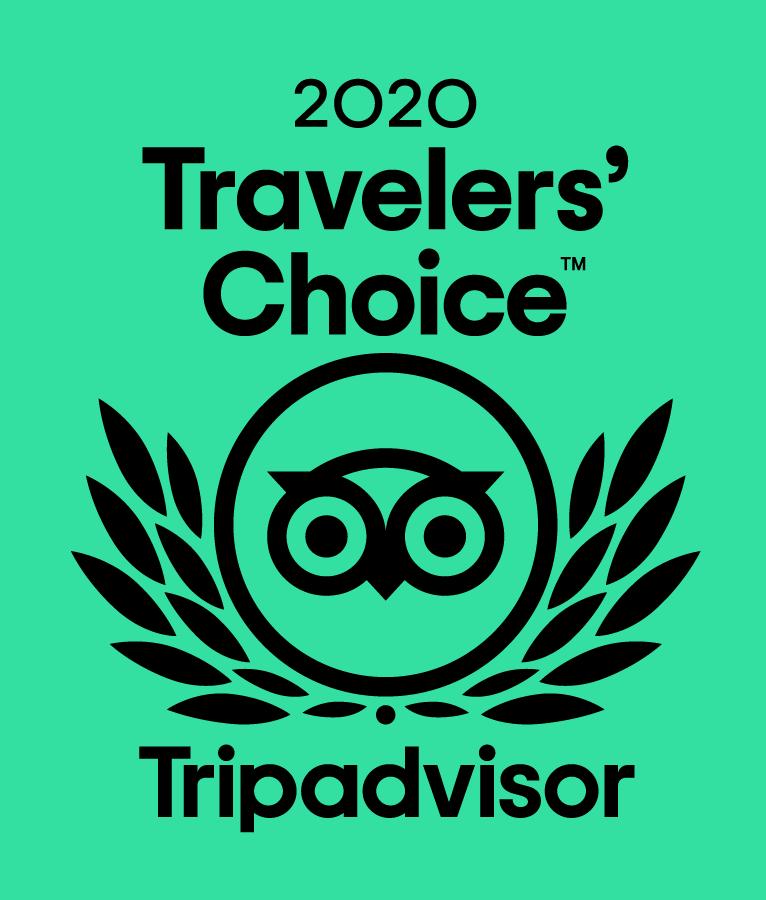 2020 Tripadvisor Travelers Choice Award