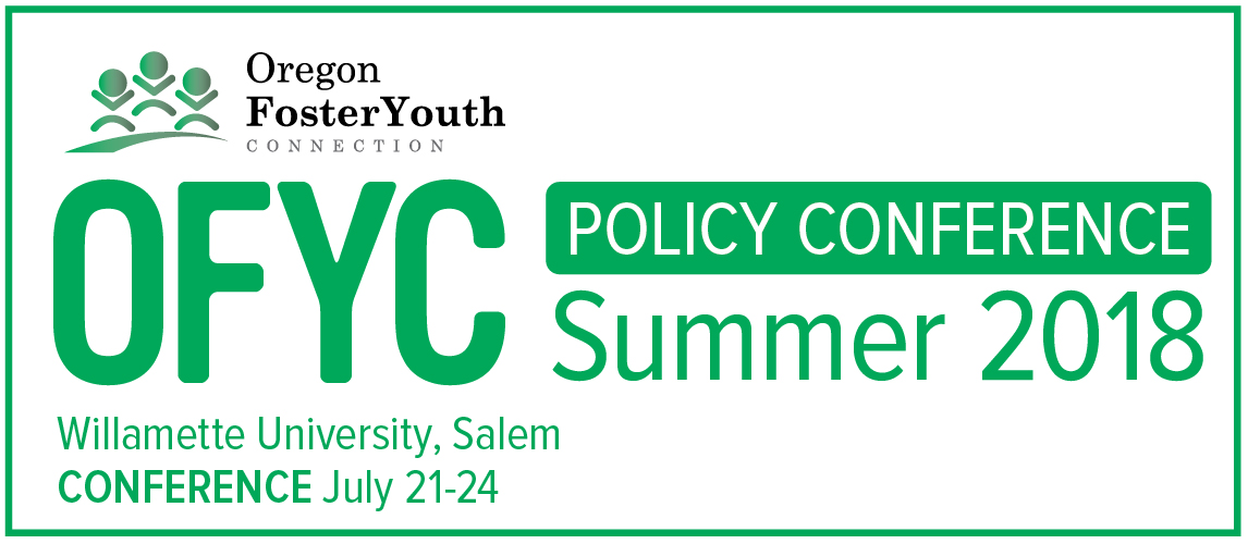 2018 OFYC Policy Conference Adult Supporter Application