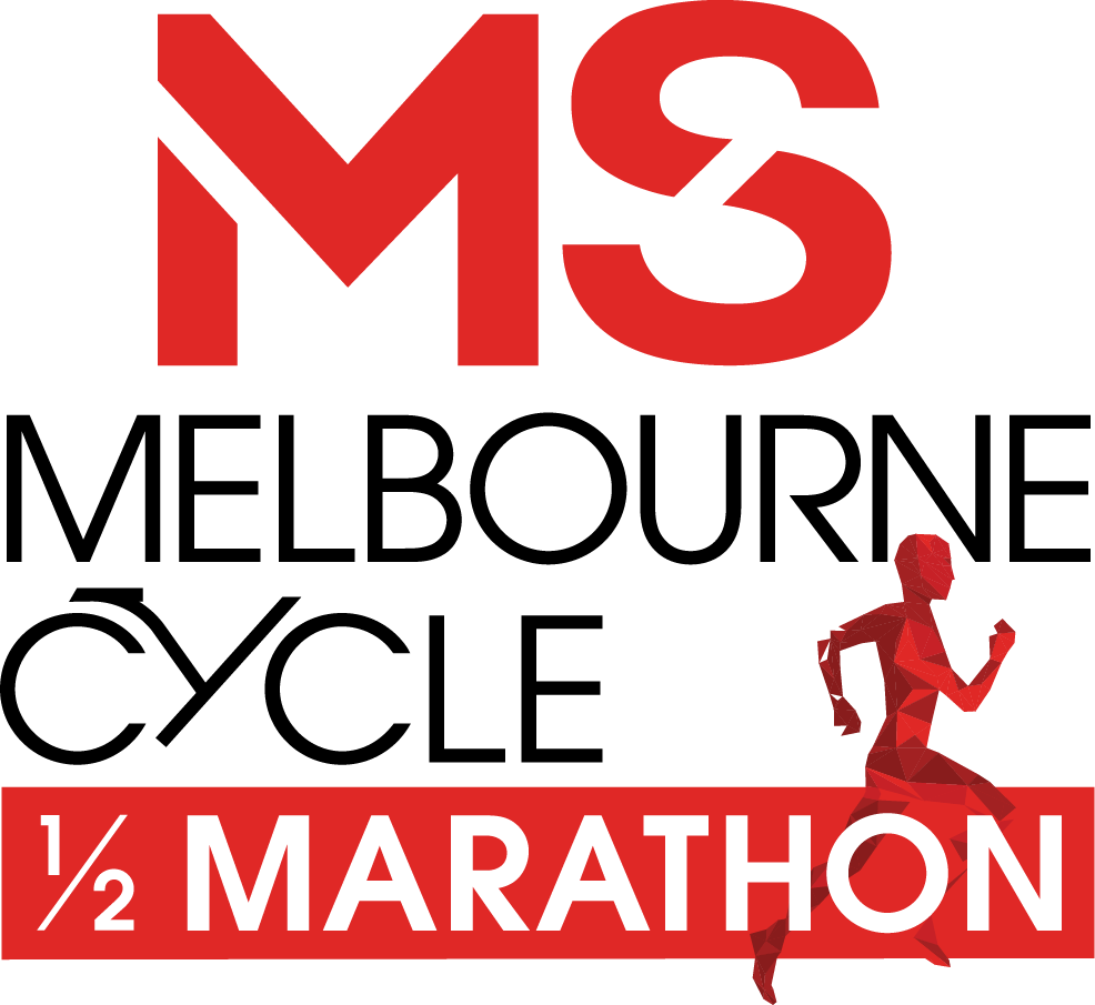 MS Melbourne Cycle + Half Marathon