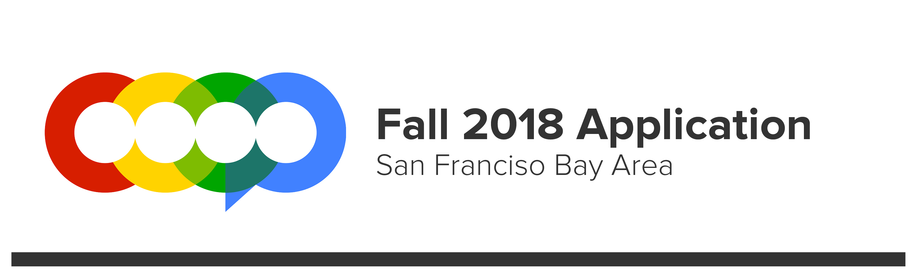 COOP Fall 2018 Application in San Francisco Bay Area