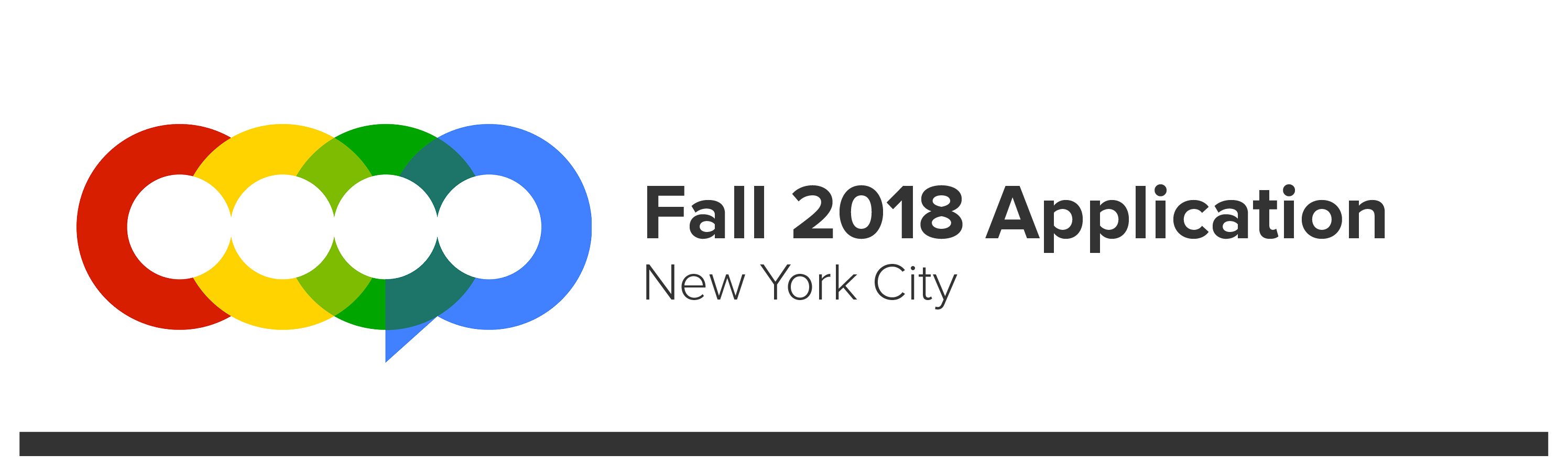 COOP Fall 2018 Application NYC