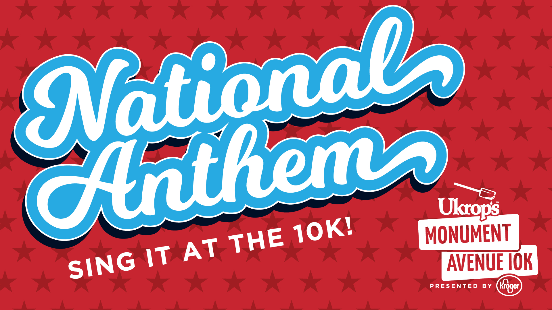 Sing the National Anthem at Ukrop's Monument Avenue 10k