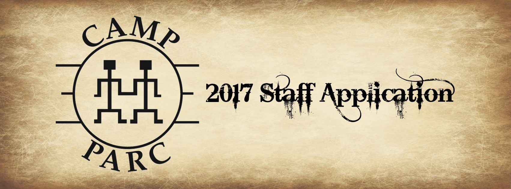Camp PARC 2017 Staff Application