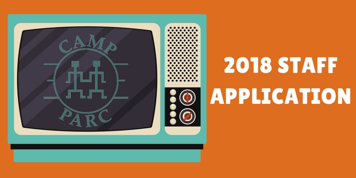 Camp PARC 2018 Staff Application
