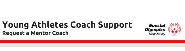 YA Coach Mentor Request Form Header