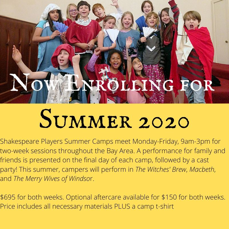 Summer 2020 Now Enrolling