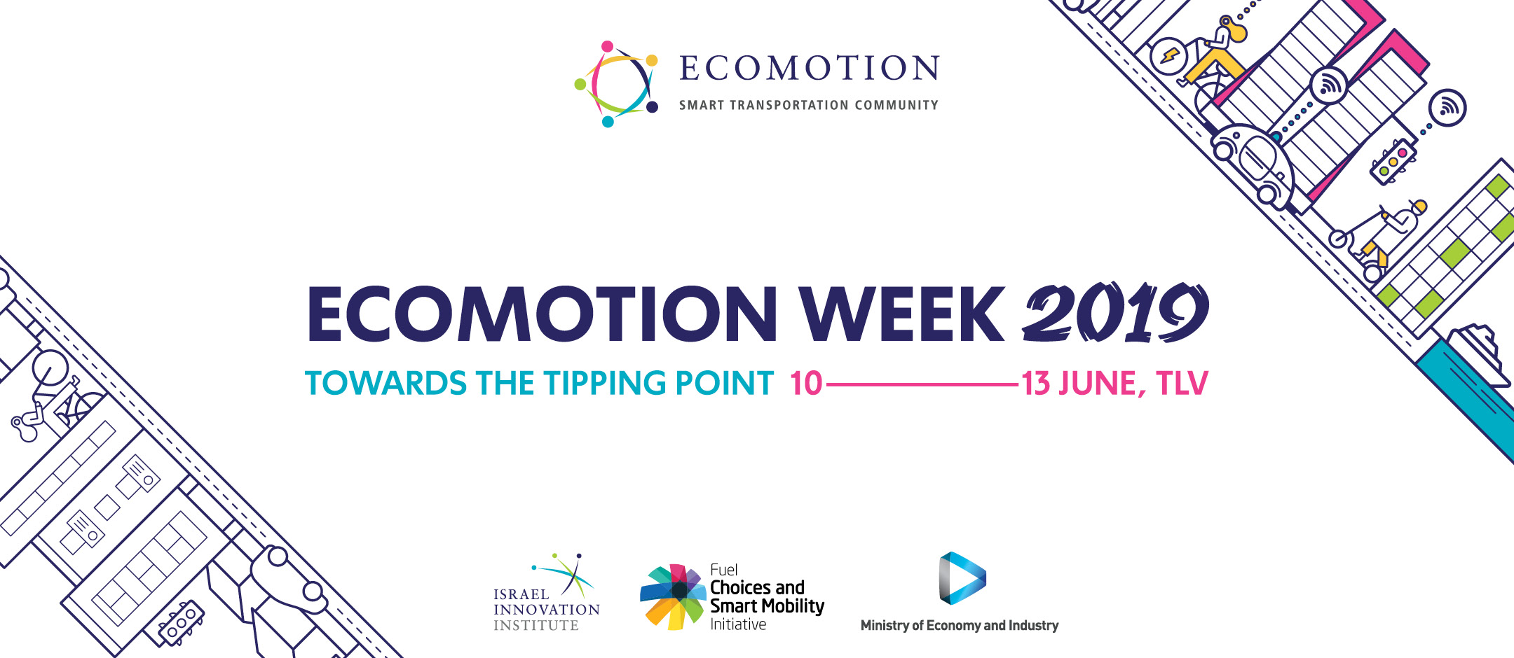 EcoMotion Week 2019 - Towards the tipping point