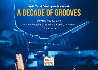 Kids In A New Groove presents: A Decade of Grooves