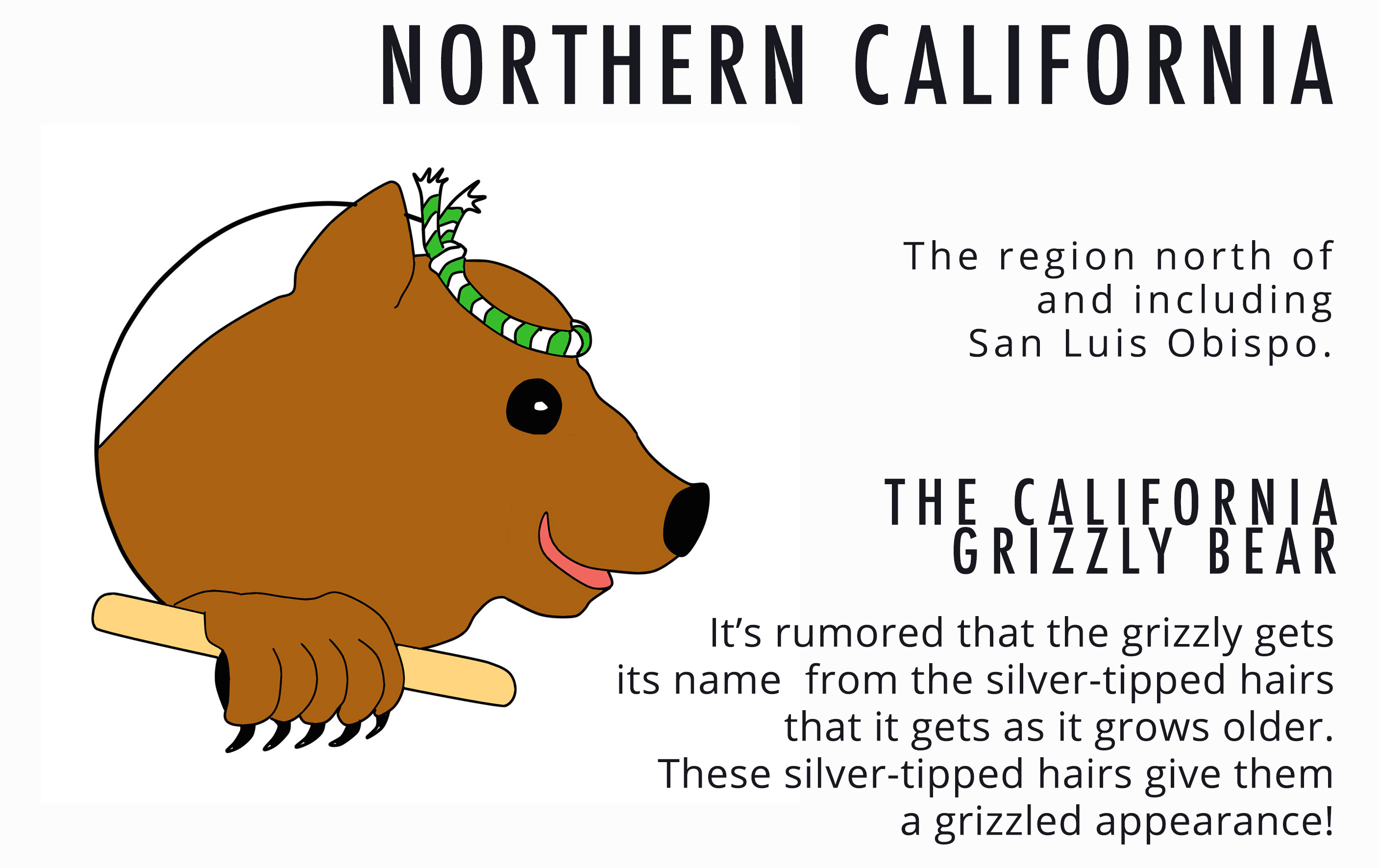 NorCal Grizzly Card