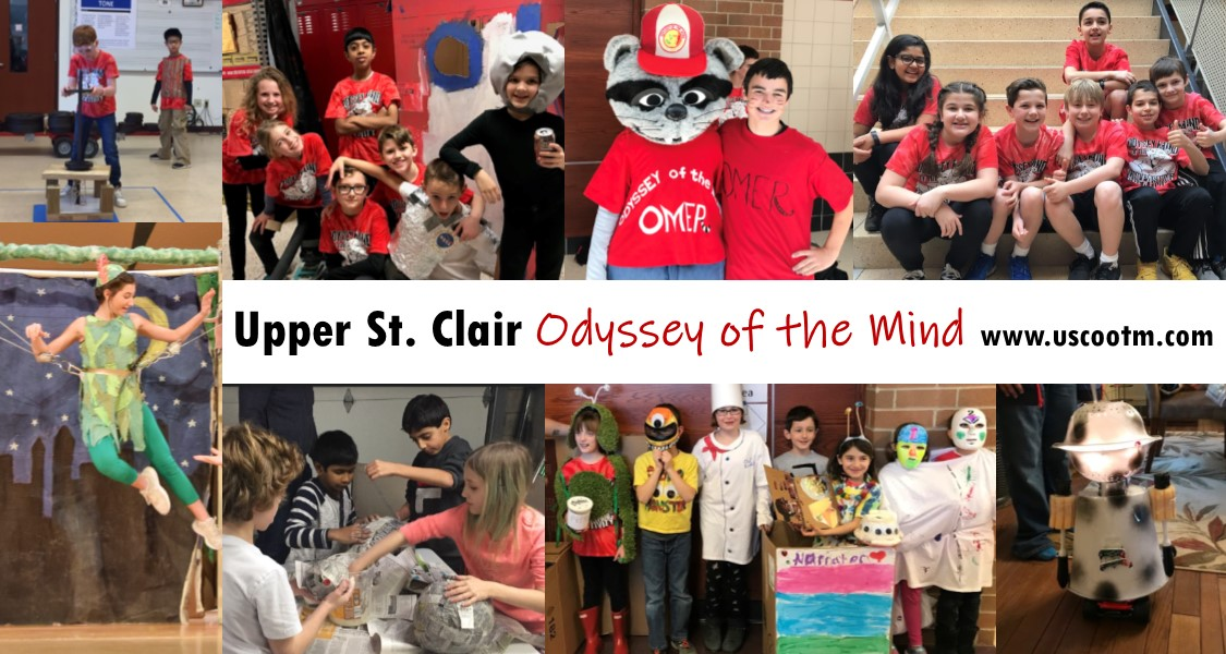 Upper St. Clair Odyssey of the Mind - www.uscootm.com