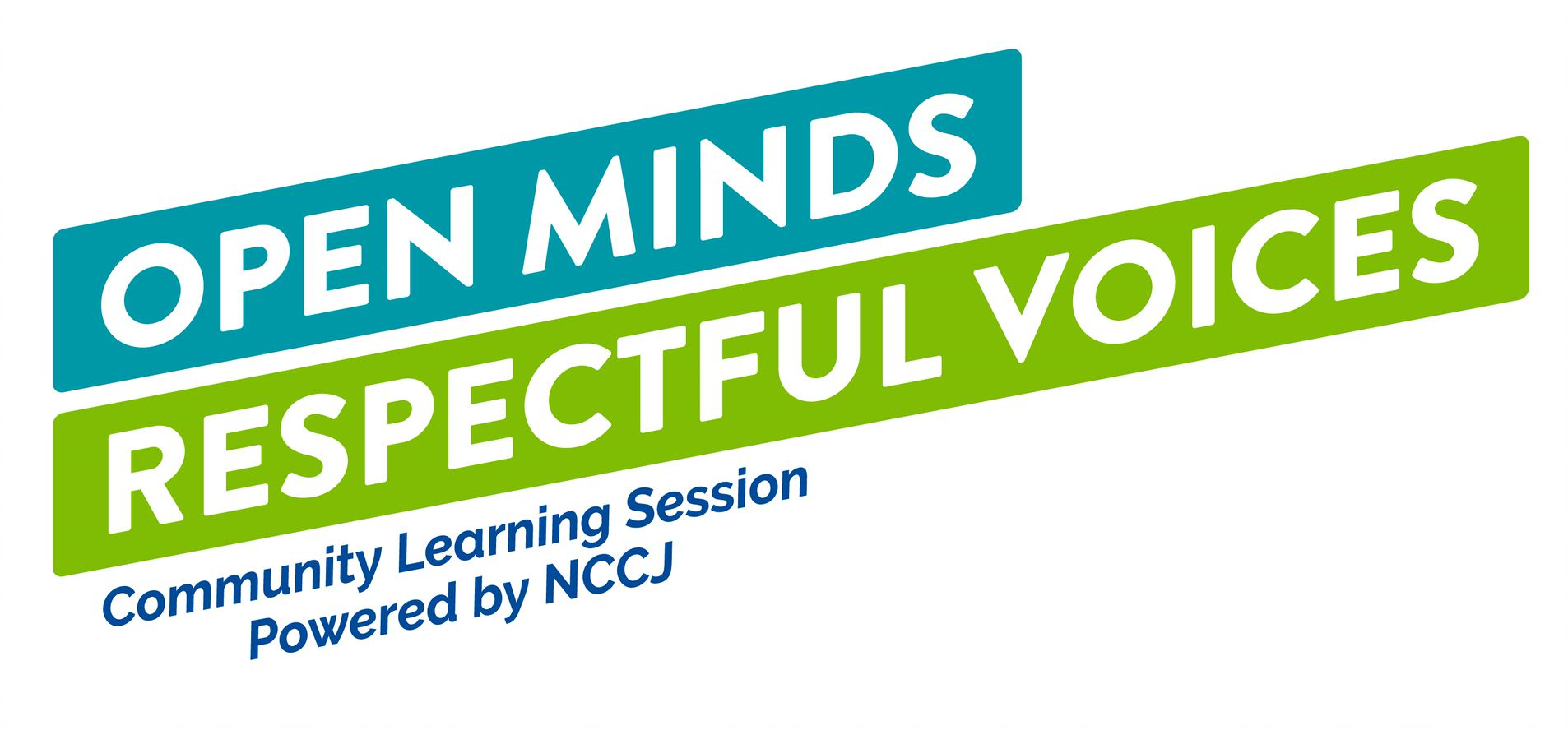NCCJ Open Minds, Respectful Voices-Community Learning Session
