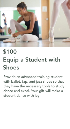 $100 Equip a Student with Shoes