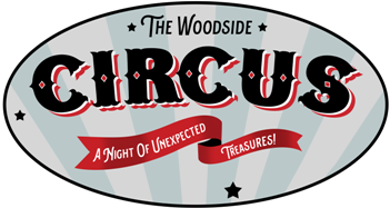 The Woodside Circus form logo