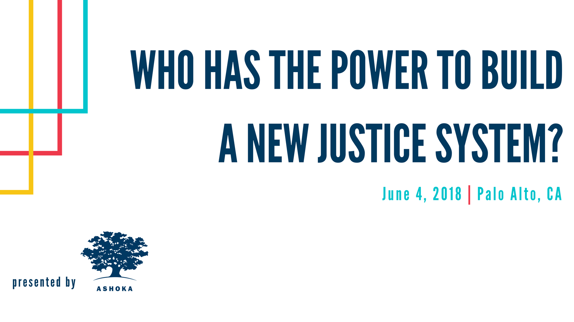 Who has the power to build a new justice system?