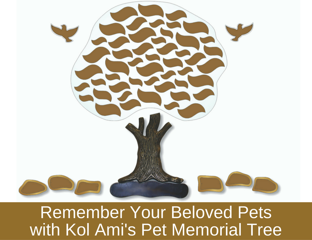 kol ami s pet memorial tree remember your beloved pet