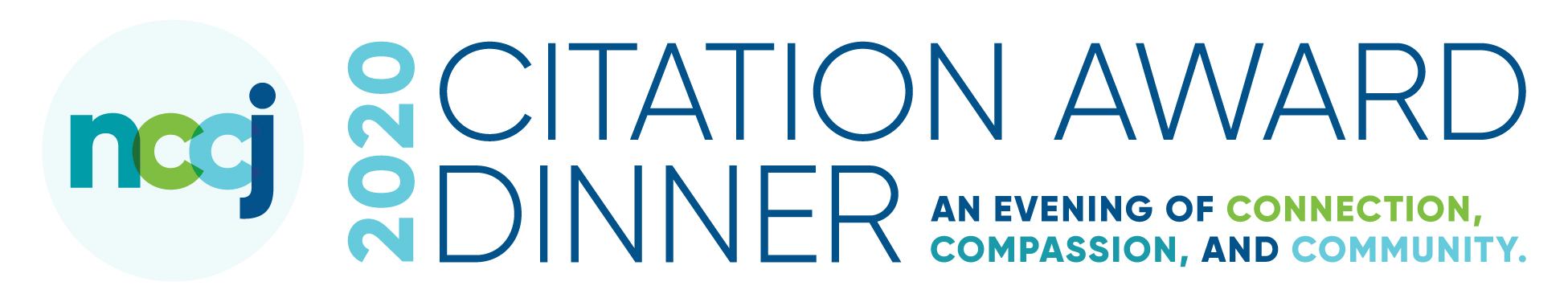 NCCJ's 2020 Citation Award Dinner: An Evening of Connection, Compassion and Community