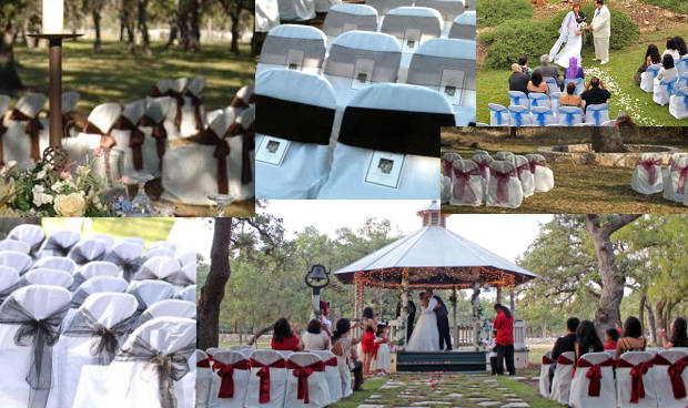 New Braunfels wedding venue. With all inclusive wedding packages including chairs and bows. Customize your elopement packages and colors.